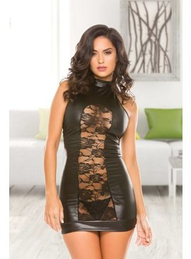 Wetlook Lace Dress