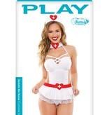 Fantasy Lingerie Sedate Nurse Costume