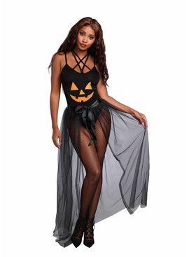 Dreamgirl Sheer Costume Skirt