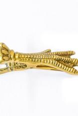 Everyday Brass Bird Claw Clip