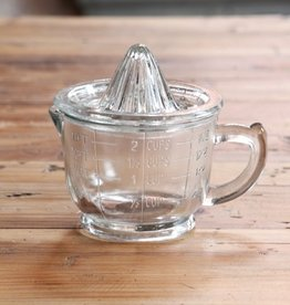 Everyday Vintage glass juicer and measuring cup w/ handle.