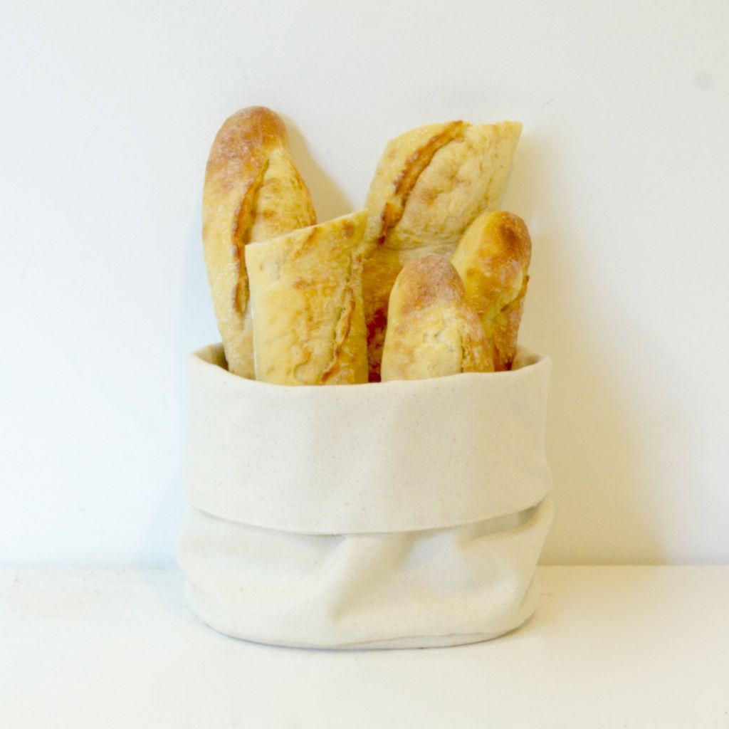 Everyday Canvas Bread Basket