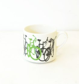 Everyday Ceramic bicycle mug.