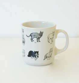 Everyday Novelty Cat Mug