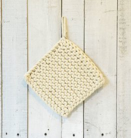 Everyday Crocheted trivet to be used for hot bowls or serving trays.