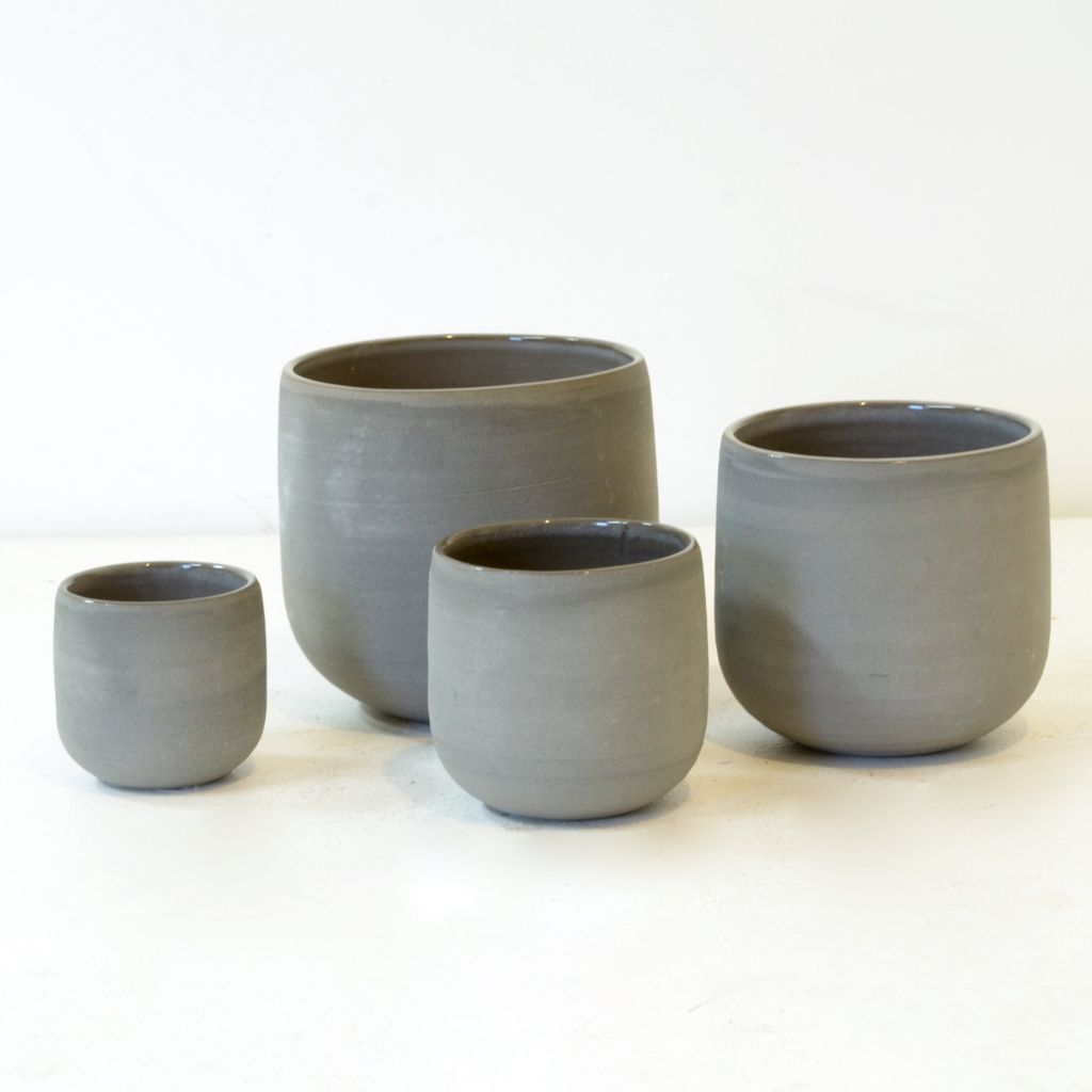 Everyday Crafted from hand-thrown stoneware in soft-lined sophisticated shapes.