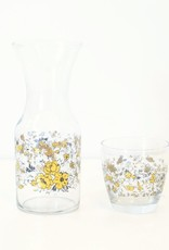 Everyday Floral Guilded Age Glass