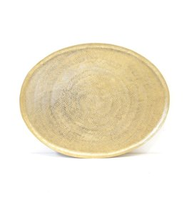 Everyday Aureus Oval Tray, Large.