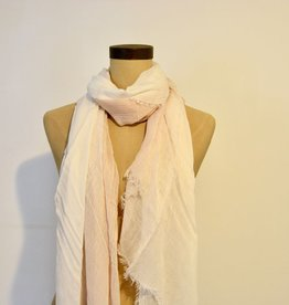 Everyday White/Blush Ombre Scarf