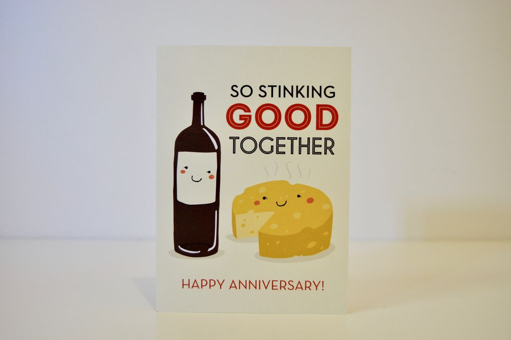Everyday So Stinking Good Together - Anniversary Card