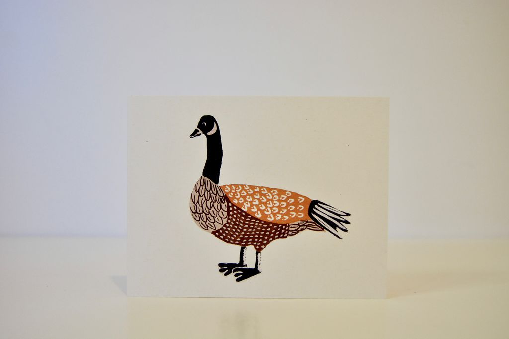 Everyday Canada Goose Card