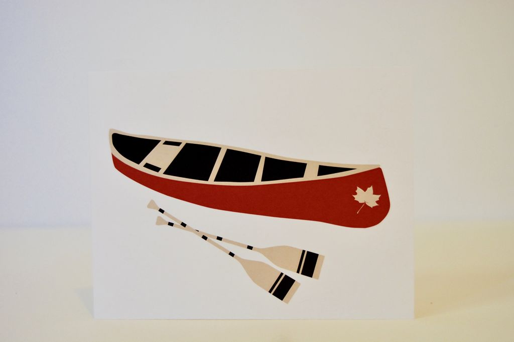 Everyday Algonquin Canoe Card