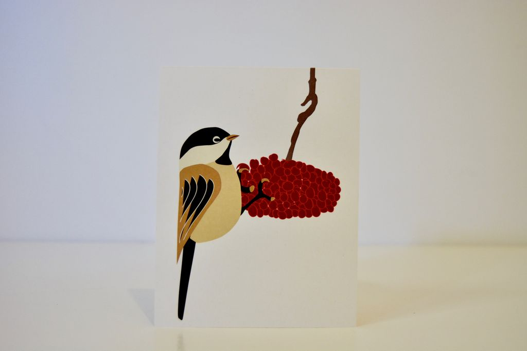 Everyday Chickadee Card