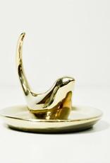 Everyday Gold Bird Ring Holder