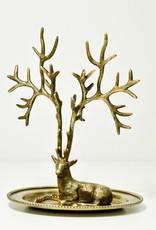 Everyday Antique Deer Jewelry Holder
