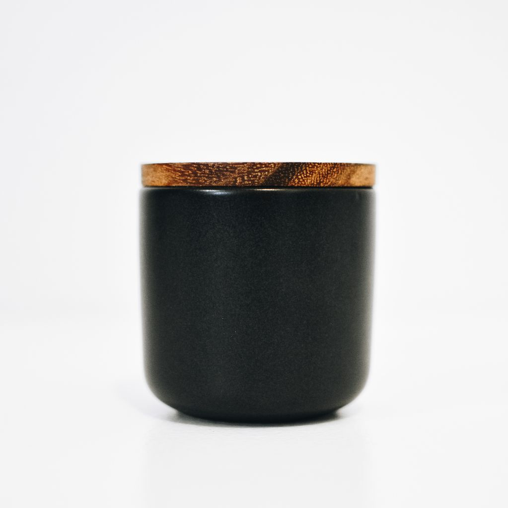 Everyday Stoneware Container BLK Medium