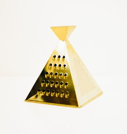 Everyday Gold Cheese Grater Pyramid