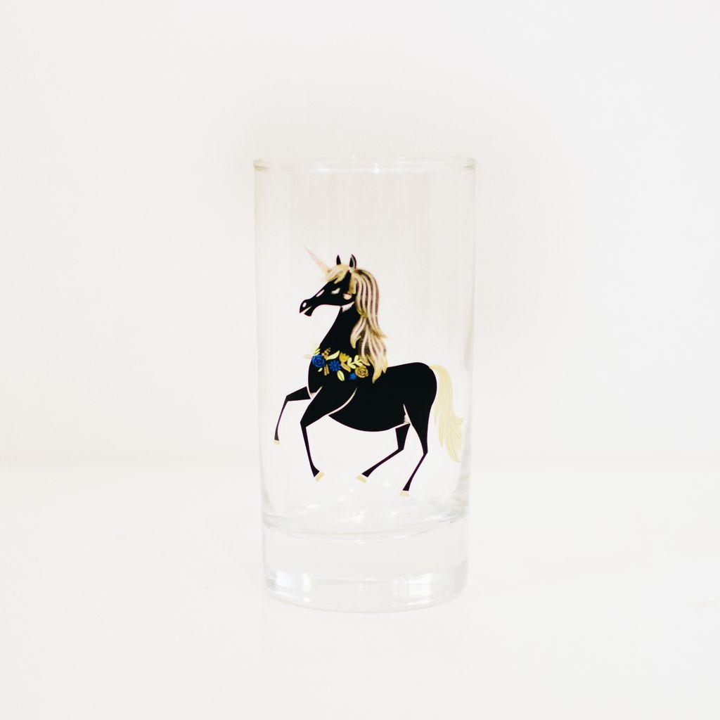 Everyday Unicorn Glass