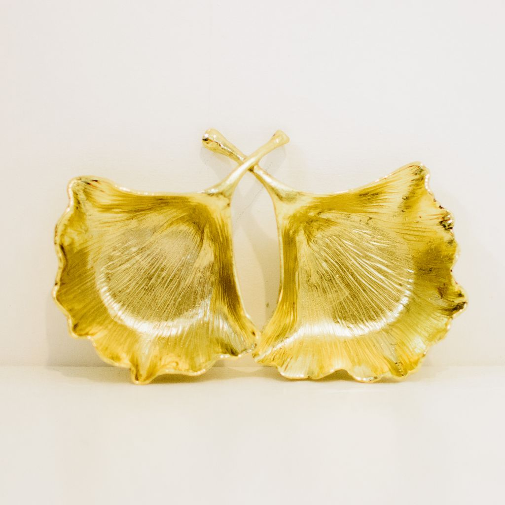 Everyday Condiment Set - Gold Leaves