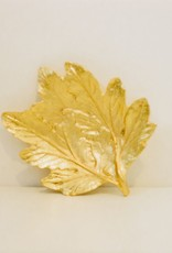 Everyday Gold Maple Leaf Dish