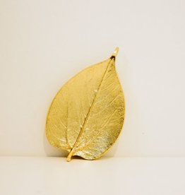 Everyday Gold Mulberry Leaf Dish