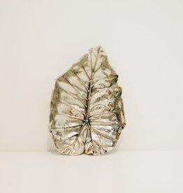 Everyday Aspen Leaf Silver Tray