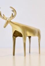 Everyday Brass Reindeer Medium