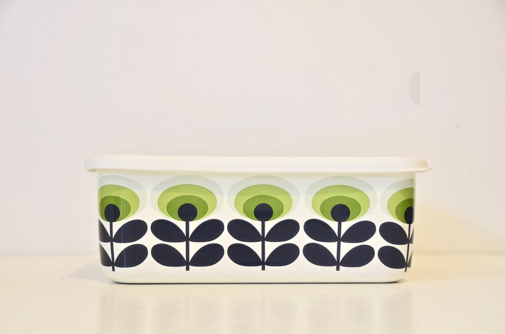 Everyday Orla Kiely Oval 70's X-Large Storage Container