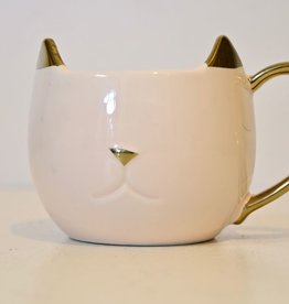 Everyday Pink Cat Mug