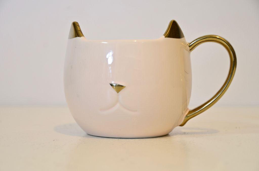 Everyday Pink Cat Mug