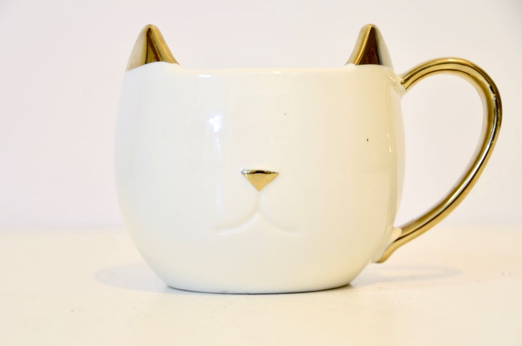 Everyday White Cat Mug