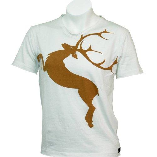 T-Shirt Deer  Tobacco XL