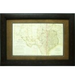 Texas Art - Cattle Trails of Texas 1876