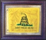 Texas Art - Don't Tread on Me Flag Medium