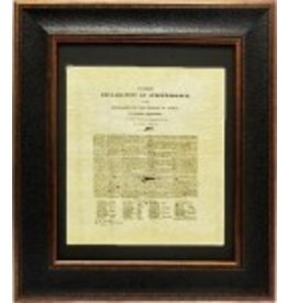 Texas Art - Texas Declaration of Indpend 16x20