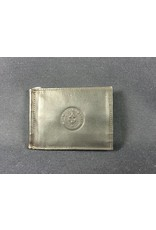 Bi-fold Money clip - Choc - Texas State Seal