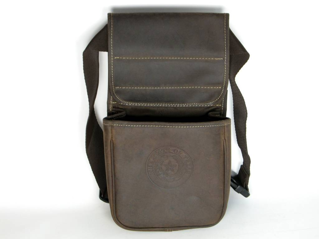 Black Hills Shell Bag - BRW - Texas State Seal