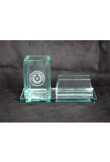 Business Card & Pen Holder - Jade - Texas State Seal