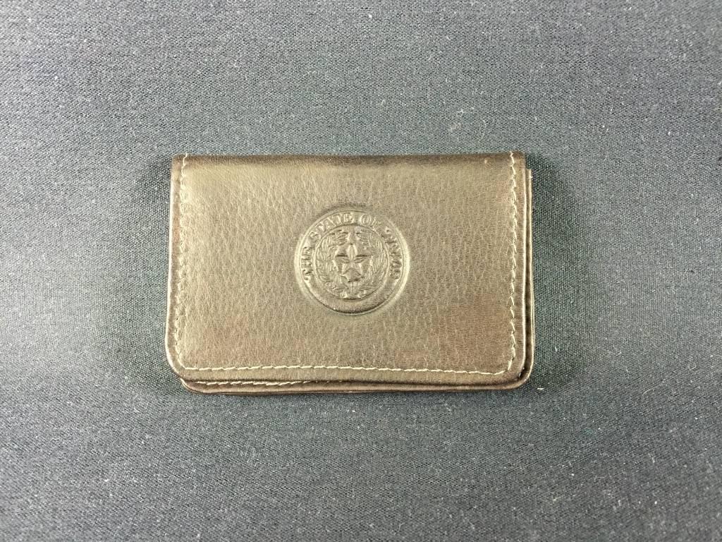 Business Card - ID case - CHC - Texas State Seal - Lone Star Legacies