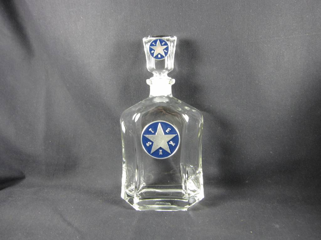 Texas Decanter - Capitol - Texas Star EB