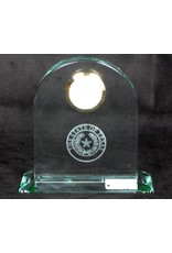 Clock - Large Classic Arch -  Texas State Seal