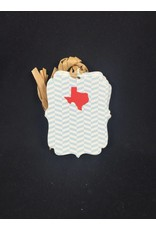 Die Cut Gift Tags - Texas