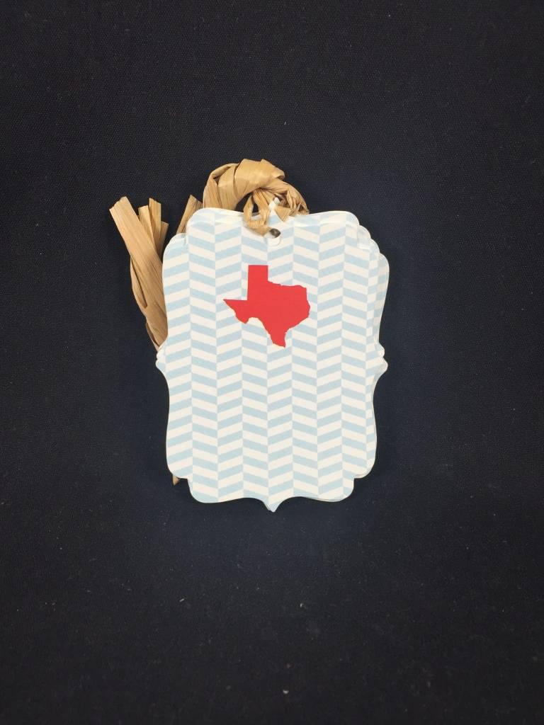 Die Cut Gift Tags - Texas