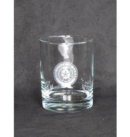 DOF - Round - Single Glass - Texas State Seal