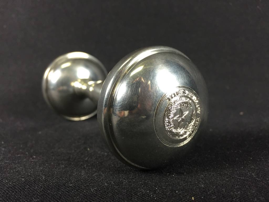 Dumbell Rattle - Texas State Seal
