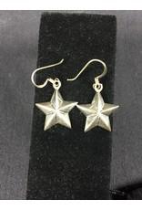 Earrings - 3D Star - Med
