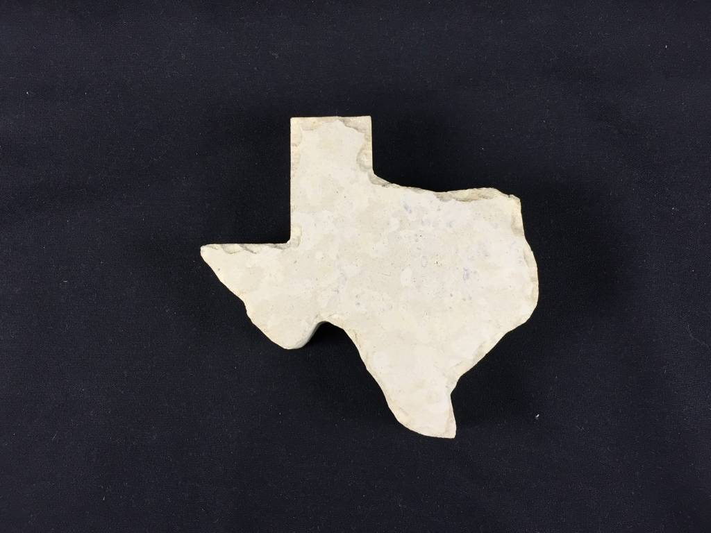 "Paperweight - Limestone - 5"" Texas"