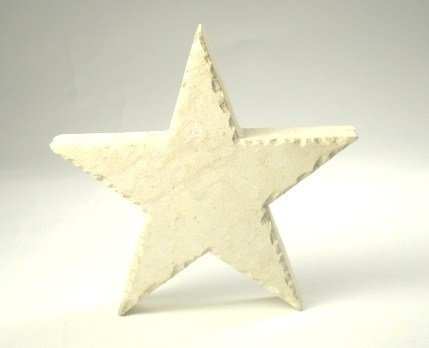 Paperweight - Limestone Star - 5 inch