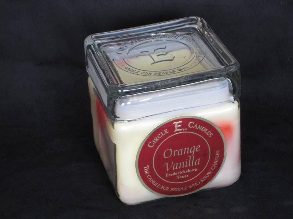 Circle E Candle - Orange Vanilla - 28 oz