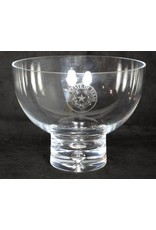 "Bowl  - 8.5"" - Galaxy - Pedestal - Texas State Seal"